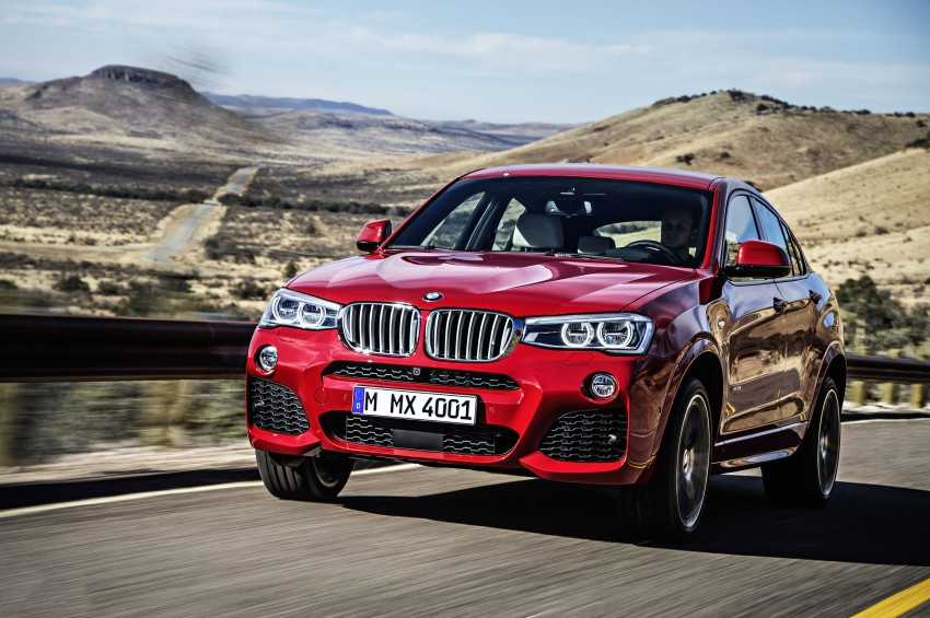 DRIVEN: F26 BMW X4 – the X3 redrawn as a 'coupe' Image #250184