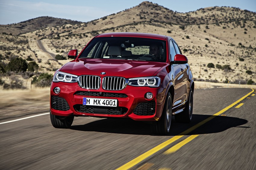 DRIVEN: F26 BMW X4 – the X3 redrawn as a 'coupe' Image #250170