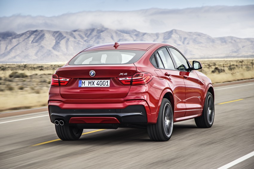 DRIVEN: F26 BMW X4 – the X3 redrawn as a 'coupe' Image #250197