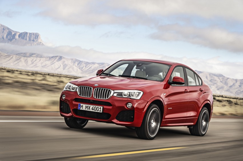 DRIVEN: F26 BMW X4 – the X3 redrawn as a 'coupe' Image #250201