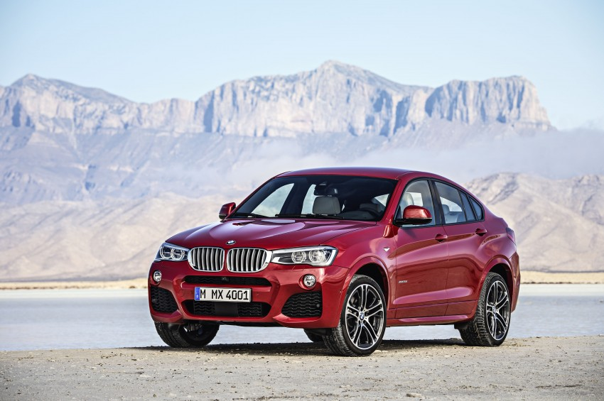 DRIVEN: F26 BMW X4 – the X3 redrawn as a 'coupe' Image #250181
