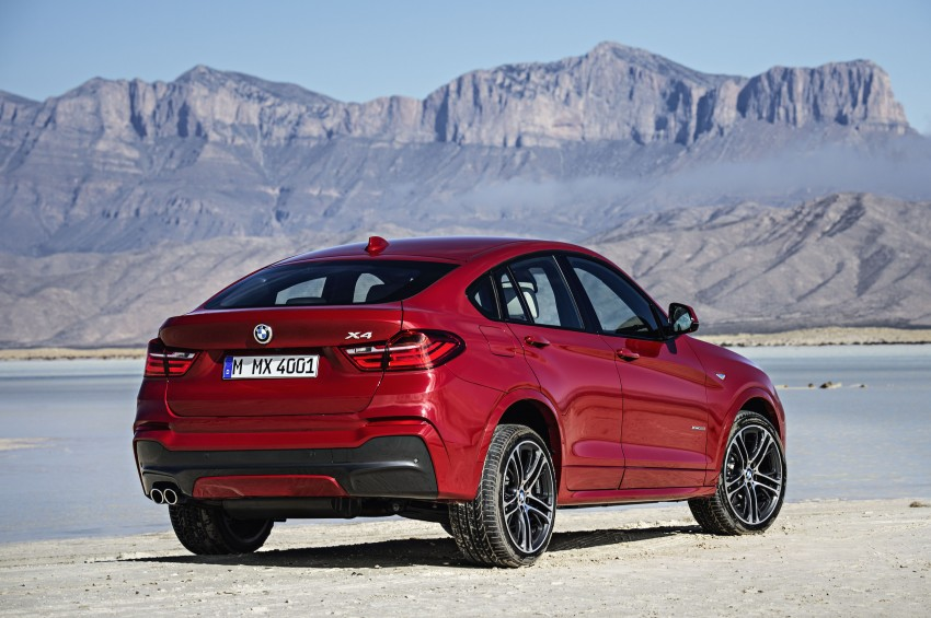 DRIVEN: F26 BMW X4 – the X3 redrawn as a 'coupe' Image #250188
