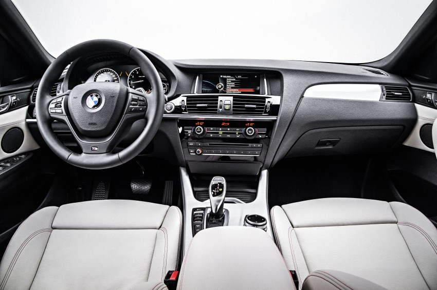 DRIVEN: F26 BMW X4 – the X3 redrawn as a 'coupe' Image #250204