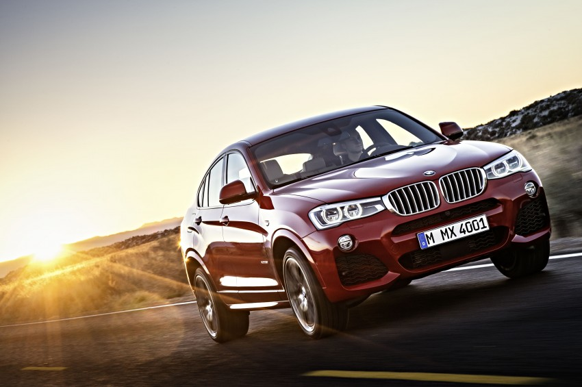 DRIVEN: F26 BMW X4 – the X3 redrawn as a 'coupe' Image #250199