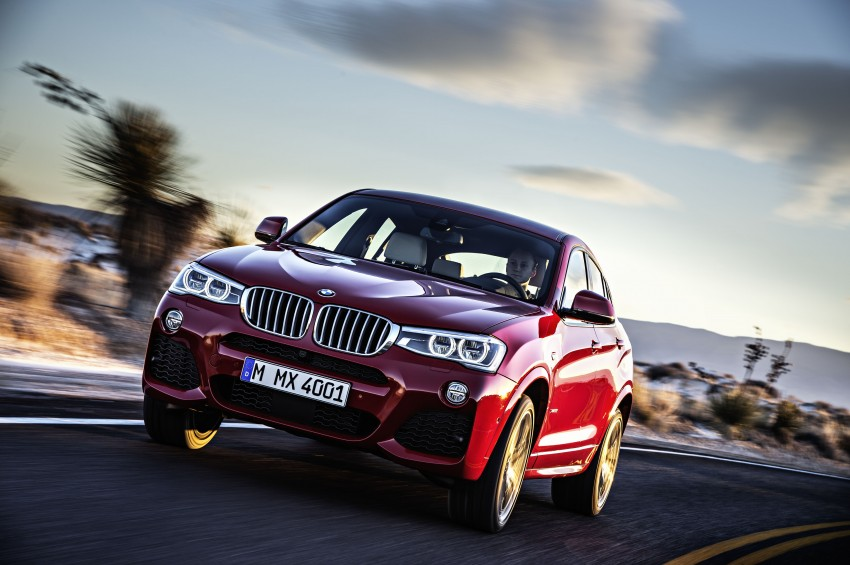 DRIVEN: F26 BMW X4 – the X3 redrawn as a 'coupe' Image #250186