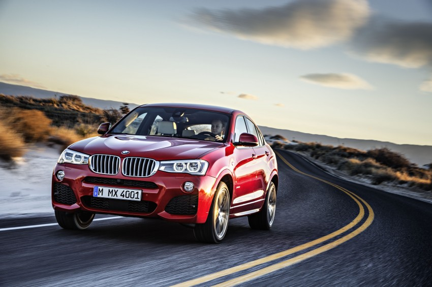 DRIVEN: F26 BMW X4 – the X3 redrawn as a 'coupe' Image #250174