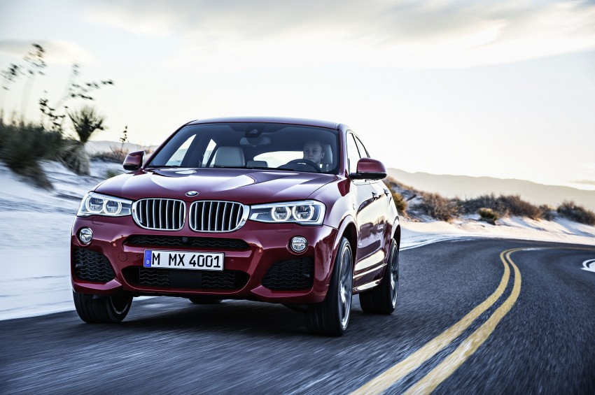 DRIVEN: F26 BMW X4 – the X3 redrawn as a 'coupe' Image #250173