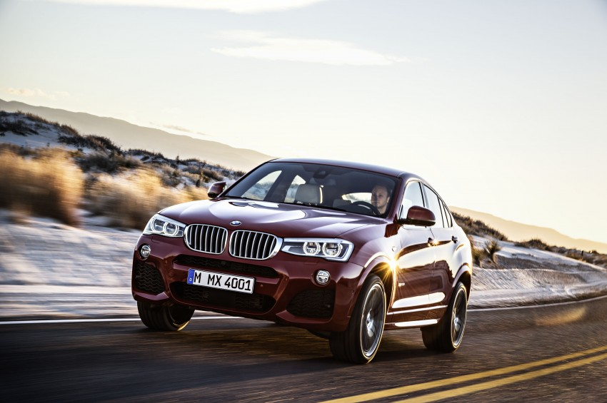 DRIVEN: F26 BMW X4 – the X3 redrawn as a 'coupe' Image #250182