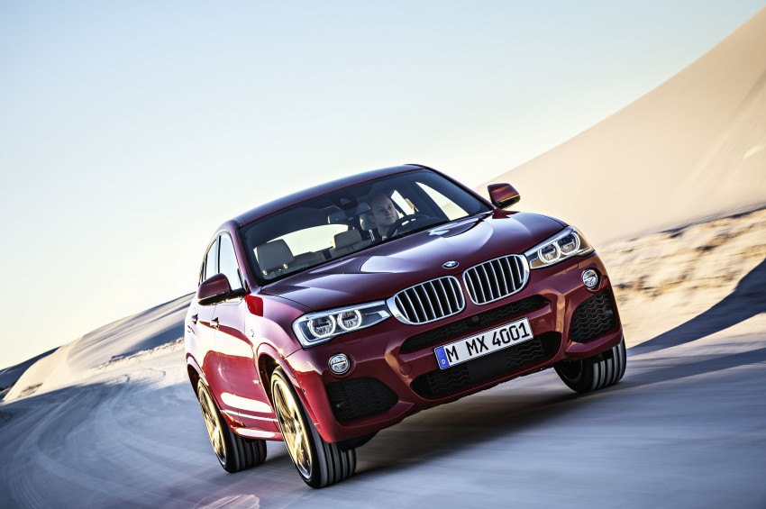 DRIVEN: F26 BMW X4 – the X3 redrawn as a 'coupe' Image #250198