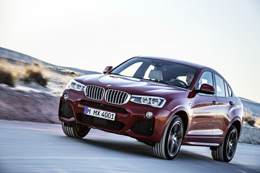 DRIVEN: F26 BMW X4 – the X3 redrawn as a 'coupe' Image #250195