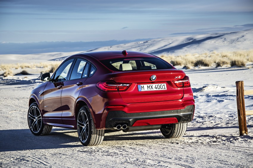 DRIVEN: F26 BMW X4 – the X3 redrawn as a 'coupe' Image #250160