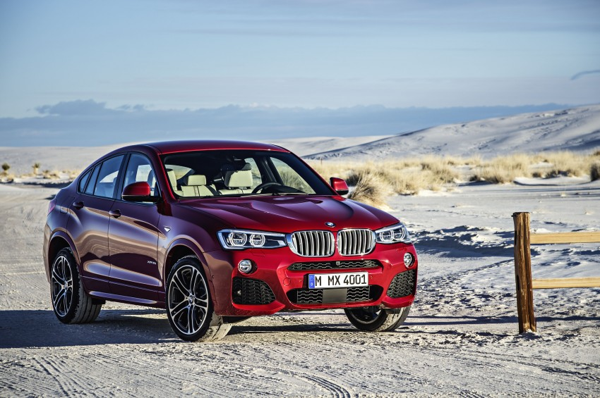DRIVEN: F26 BMW X4 – the X3 redrawn as a 'coupe' Image #250161