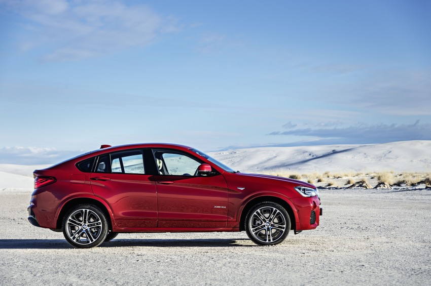 DRIVEN: F26 BMW X4 – the X3 redrawn as a 'coupe' Image #250166
