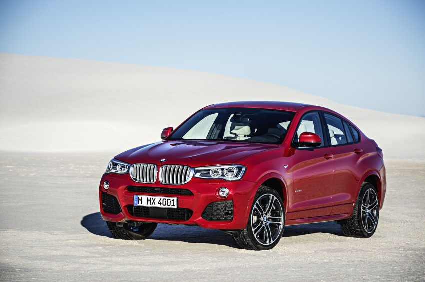 DRIVEN: F26 BMW X4 – the X3 redrawn as a 'coupe' Image #250180