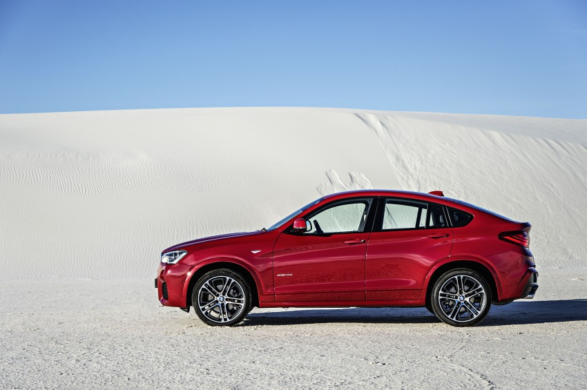 DRIVEN: F26 BMW X4 – the X3 redrawn as a 'coupe' Image #250169