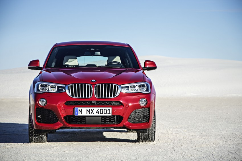 DRIVEN: F26 BMW X4 – the X3 redrawn as a 'coupe' Image #250172