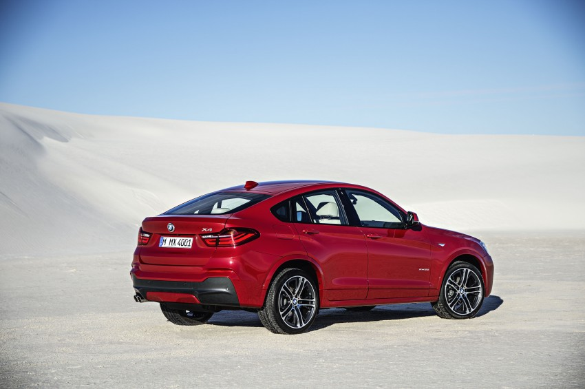 DRIVEN: F26 BMW X4 – the X3 redrawn as a 'coupe' Image #250183