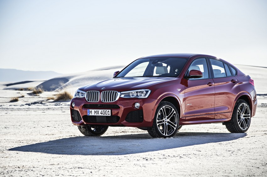 DRIVEN: F26 BMW X4 – the X3 redrawn as a 'coupe' Image #250167