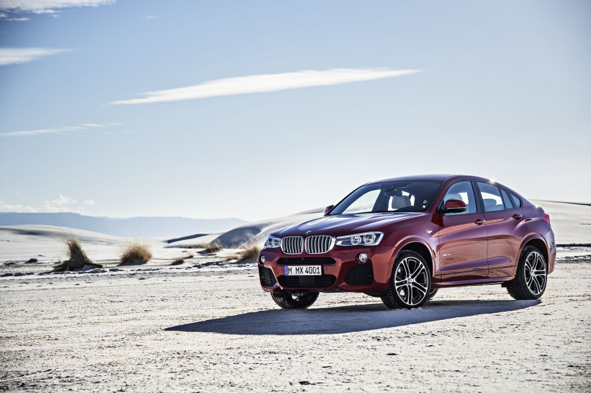 DRIVEN: F26 BMW X4 – the X3 redrawn as a 'coupe' Image #250163