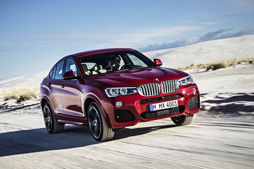 DRIVEN: F26 BMW X4 – the X3 redrawn as a 'coupe' Image #250189