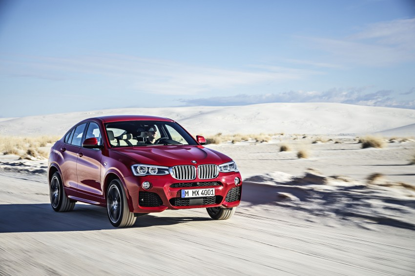 DRIVEN: F26 BMW X4 – the X3 redrawn as a 'coupe' Image #250187