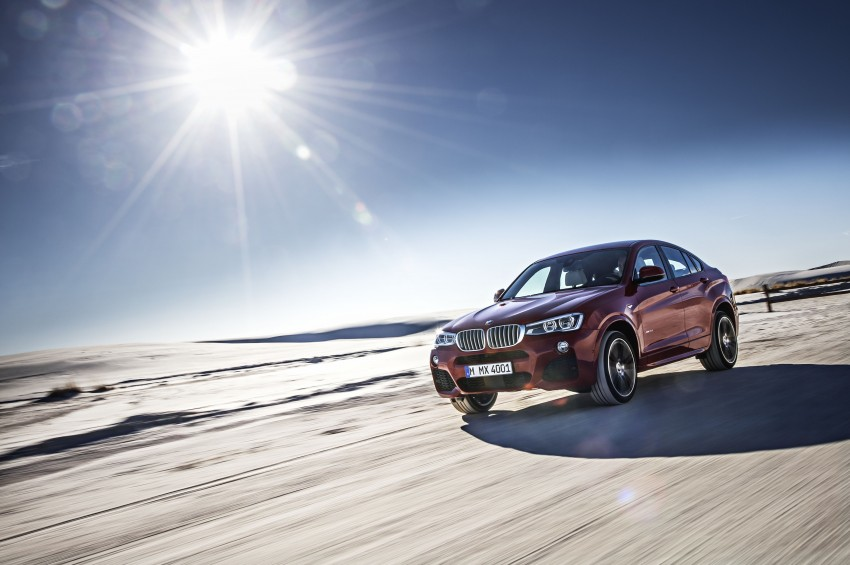 DRIVEN: F26 BMW X4 – the X3 redrawn as a 'coupe' Image #250192