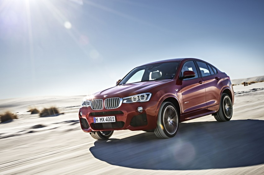 DRIVEN: F26 BMW X4 – the X3 redrawn as a 'coupe' Image #250202
