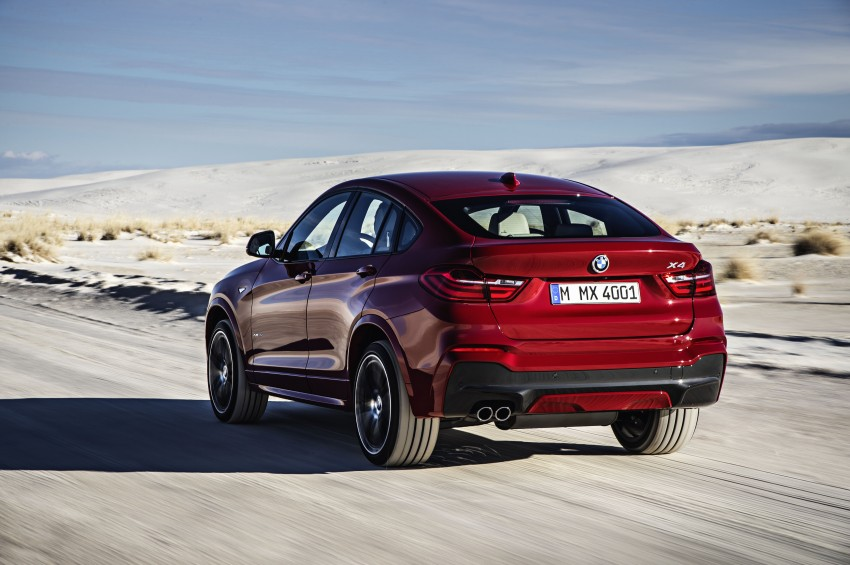 DRIVEN: F26 BMW X4 – the X3 redrawn as a 'coupe' Image #250190