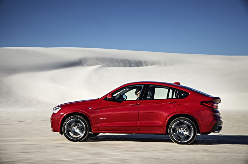 DRIVEN: F26 BMW X4 – the X3 redrawn as a 'coupe' Image #250200