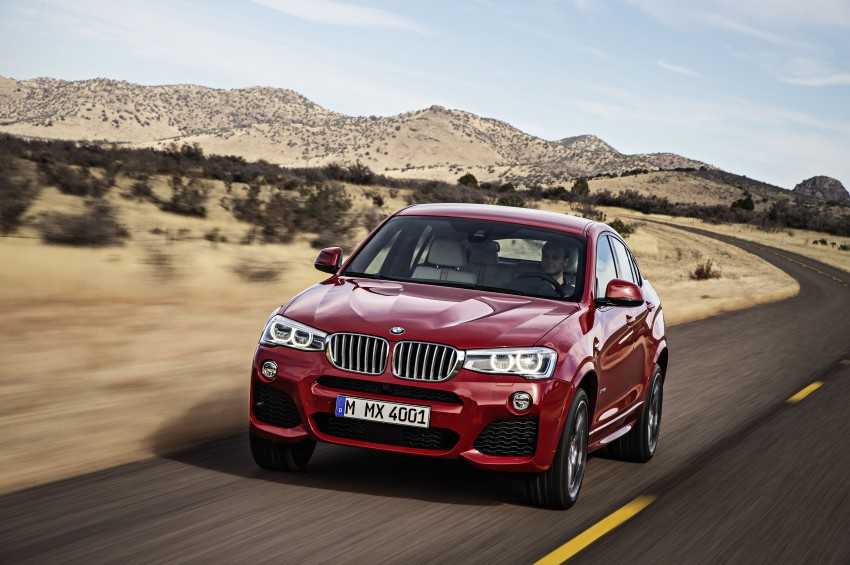 DRIVEN: F26 BMW X4 – the X3 redrawn as a 'coupe' Image #250178