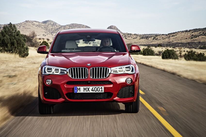 DRIVEN: F26 BMW X4 – the X3 redrawn as a 'coupe' Image #250176