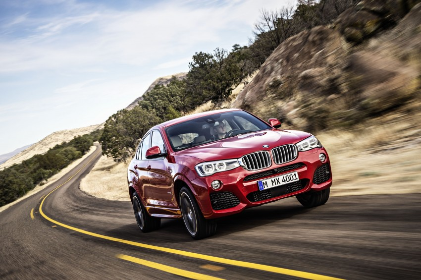 DRIVEN: F26 BMW X4 – the X3 redrawn as a 'coupe' Image #250168