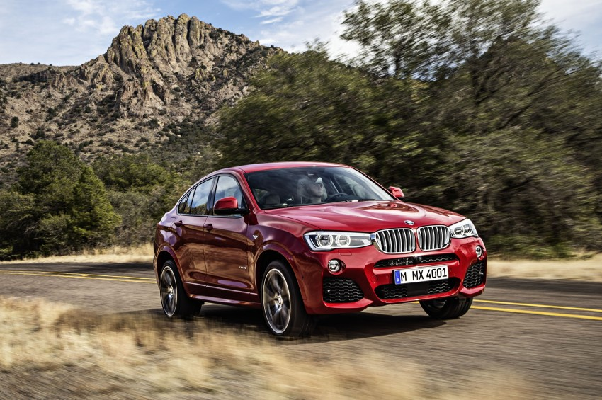 DRIVEN: F26 BMW X4 – the X3 redrawn as a 'coupe' Image #250164