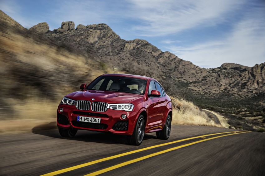 DRIVEN: F26 BMW X4 – the X3 redrawn as a 'coupe' Image #250177