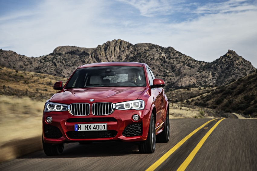 DRIVEN: F26 BMW X4 – the X3 redrawn as a 'coupe' Image #250193