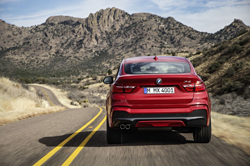DRIVEN: F26 BMW X4 – the X3 redrawn as a 'coupe' Image #250175