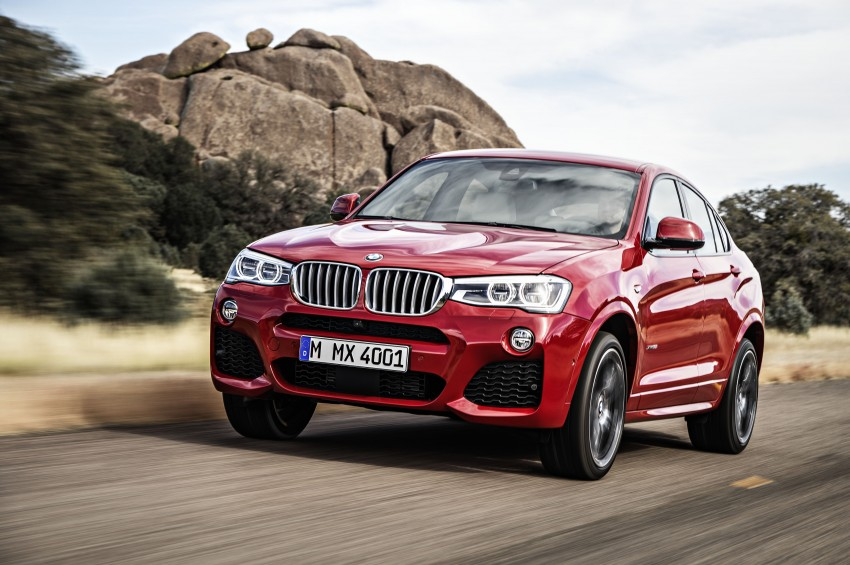 DRIVEN: F26 BMW X4 – the X3 redrawn as a 'coupe' Image #250194