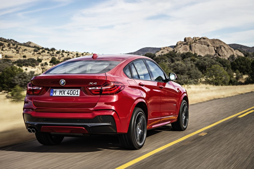 DRIVEN: F26 BMW X4 – the X3 redrawn as a 'coupe' Image #250191