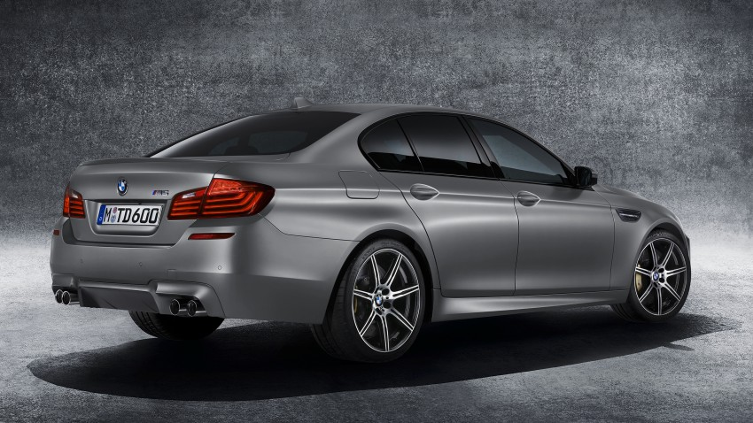 "BMW M5 ""30 Jahre M5"" celebrates 30 years of the M5 Image #246346"