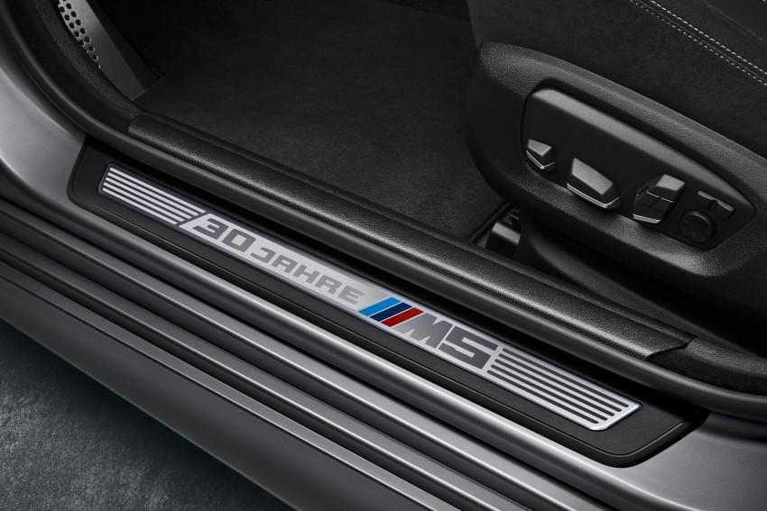 "BMW M5 ""30 Jahre M5"" celebrates 30 years of the M5 Image #246350"