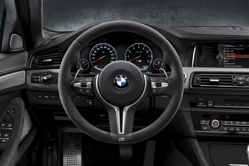 "BMW M5 ""30 Jahre M5"" celebrates 30 years of the M5 Image #246357"