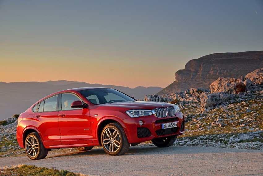 DRIVEN: F26 BMW X4 – the X3 redrawn as a 'coupe' Image #250013