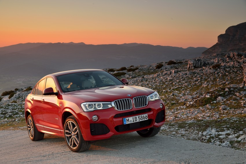 DRIVEN: F26 BMW X4 – the X3 redrawn as a 'coupe' Image #250016