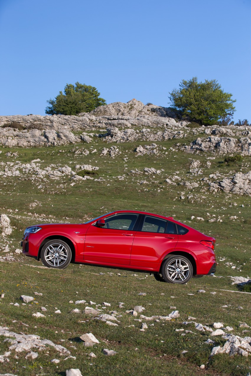 DRIVEN: F26 BMW X4 – the X3 redrawn as a 'coupe' Image #250015