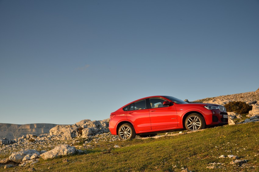 DRIVEN: F26 BMW X4 – the X3 redrawn as a 'coupe' Image #250014