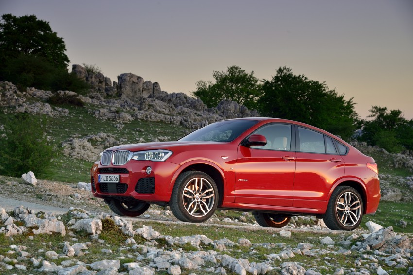DRIVEN: F26 BMW X4 – the X3 redrawn as a 'coupe' Image #250017