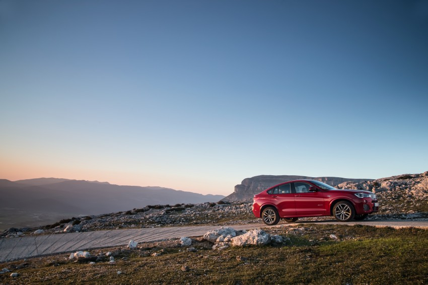 DRIVEN: F26 BMW X4 – the X3 redrawn as a 'coupe' Image #250050