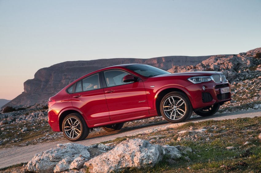 DRIVEN: F26 BMW X4 – the X3 redrawn as a 'coupe' Image #250040