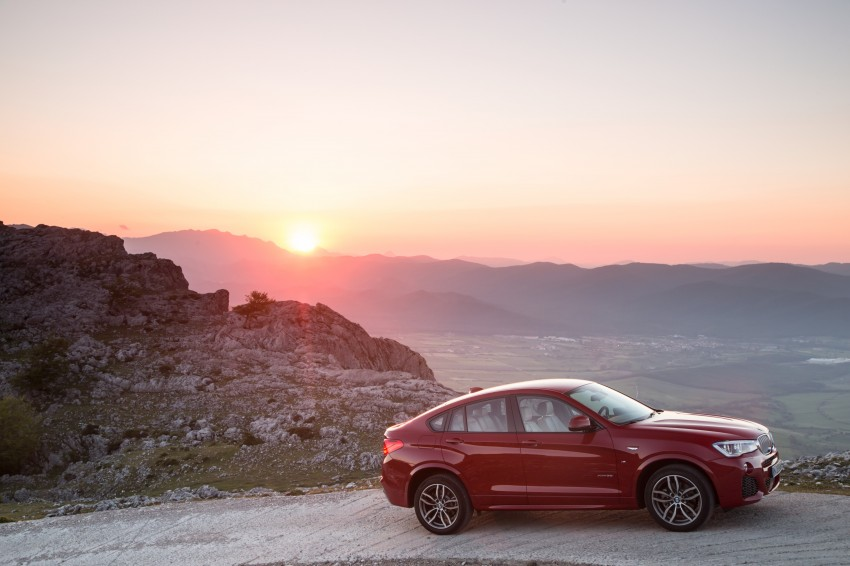 DRIVEN: F26 BMW X4 – the X3 redrawn as a 'coupe' Image #250125
