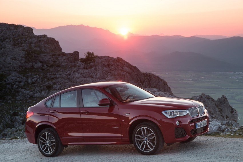 DRIVEN: F26 BMW X4 – the X3 redrawn as a 'coupe' Image #250109